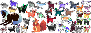 Adoptable Batch OPEN! by AnonAdopts