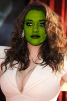 She Mask Kat Dennings by bambucea09