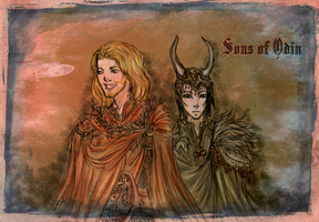 Sons of Odin by kejtTENSHA