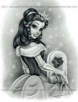 CHRISTMAS BELLE by pat-mcmichael