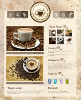 Theme para TUMBLR - Layout Coffee by Tayanee