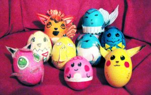 Pokemon Eggs by MeganTheartist