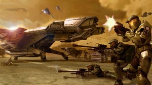 Halo 3: Battle of Reach by 2900d4u