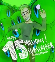 15 Million Milestone - Jacksepticeyes by NeLite-Art