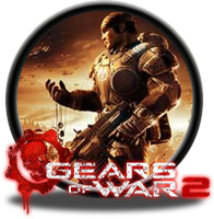 Gears of War 2 Button by GAMEKRIBzombie