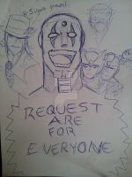 Request are for Everyone! by N-Sigma