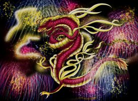 Chinese Dragon by Wildfrost24