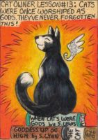 Cat Owner Lesson 13 - Art Card by stephanielynn