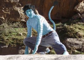 Avatar PS - Action Pose by Chuck-the-ADDragon