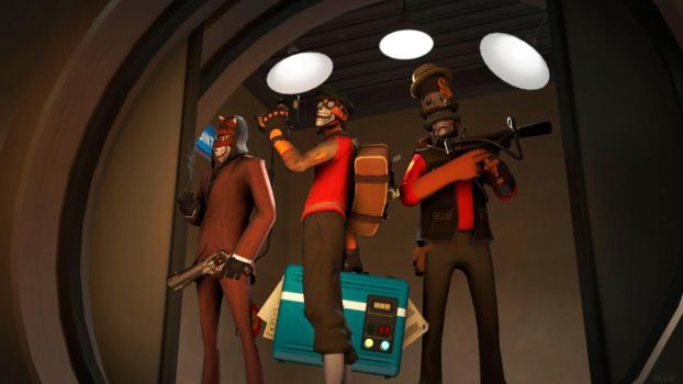 |SFM|The Masked A-Holes by GoldenDoop