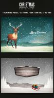 Christmas Backgrounds/Cards Collection by another-graphic