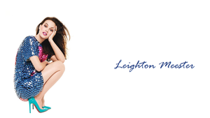 Leighton Meester wallpaper by beauteousgoddess