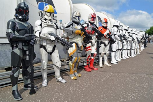 UK Garrison on Parade at the NSC 2014 (1) by masimage