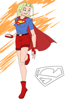 My Supergirl: Design 1 by NoXV