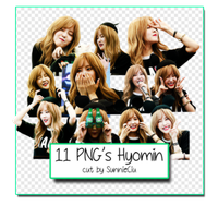 Pack 11 PNG's Hyomin by SunnieCiu