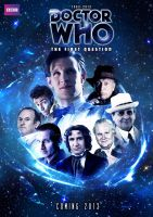 Doctor Who The First Question Official Poster by dalekdom-fanart