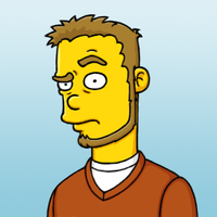 Simpsons Self Portrait by the-error404