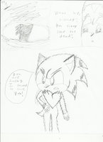 Sonic the werehog pg1 by ShadowUkelover