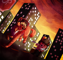 This City Never Sleeps by dogsmooch