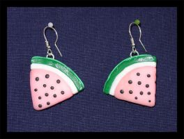 Fruit earrings by Peevo