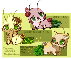 :Tea Leafypeas for Auction(closed): by PrePAWSterous