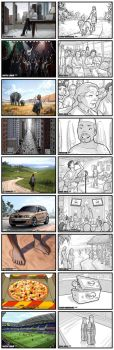 Storyboarding 2008 - 2010 by WarrenLouw
