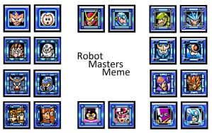 Robot Masters Meme - Favorites by Lainwood