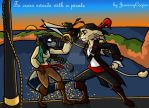 To cross swords with a pirate by JennissyCooper