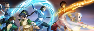 Team Avatar Aang by aagito