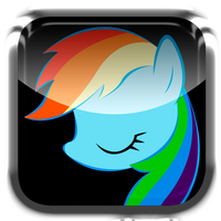 Rainbow Dash app avatar by InternationalTCK