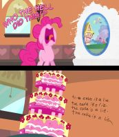 The cake is a lie! by KujaEx