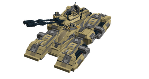LEGO Halo - M850 ''Grizzly'' Turret Upgrade by Aryck-The-One