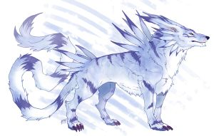 Garurumon by Kerneinheit