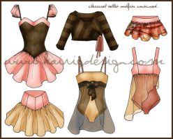 Classical Ballet Designs 2 by kairi-g
