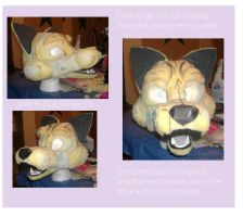 Shiio Fursuit Head re-do by DogSong