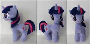 Plushie: Twilight Sparkle [J]- My Little Pony: FiM by Serenity-Sama