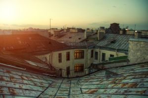 Last Summer Roof by AntonSerenity