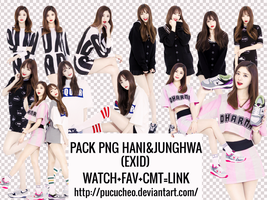 Pack Png Hani and Junghwa(EXID) by Pucucheo