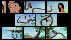 Mari And Kaa's Second Encounter Part 2 by SYFYNUT