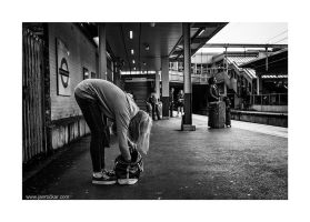 station yoga by lightdrafter