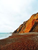 Isle of Wight - cliffs by PhilsPictures