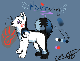New Heartwing Design! OuO by turtumy