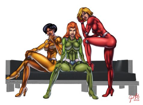 Totally Spies by JosFouts