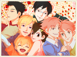 Ouran - Picture Time by siquia