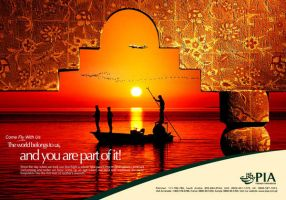 PIA Domestic KHI Ad by creavity