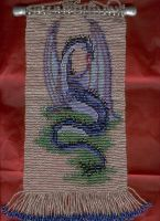 A Dragon Tapestry in Beads. by Featherthorn
