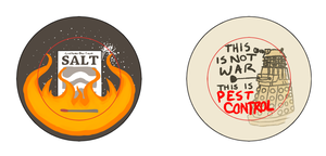 SPN and Doctor Who Pins by IdentityPolution