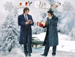 Merry Christmas from Supernatural Boys! by Nadin7Angel
