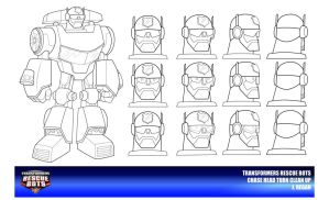 Rescue Bots Chase Head Turn Clean Up by thegreatjery