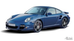Porsche 997 Turbo by CRWPitman